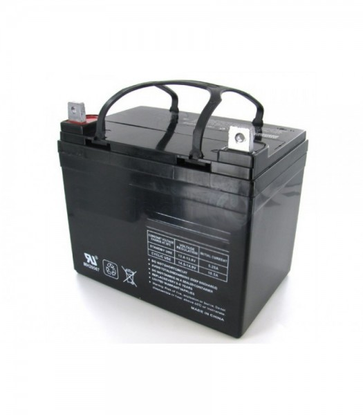 12 Volt 40ah Sunrise Medical Replacement Mobility Battery