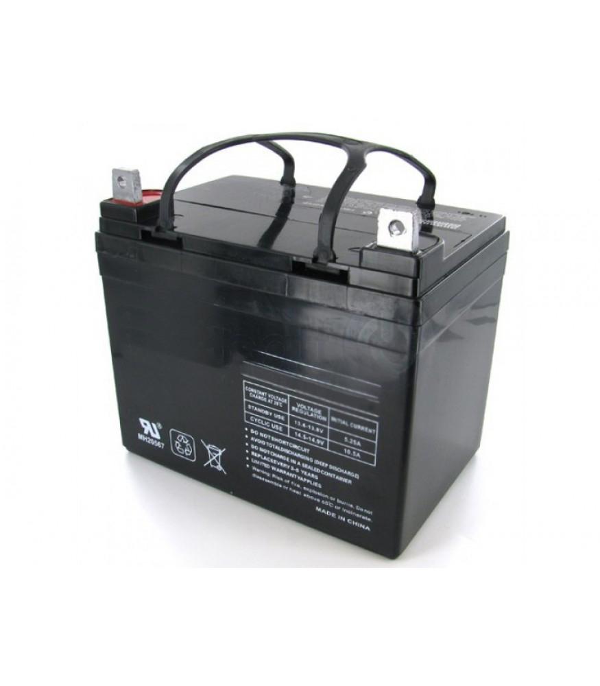 12 volt 36ah sunrise medical replacement mobility battery 21416001. Black Bedroom Furniture Sets. Home Design Ideas