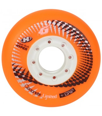 3 Inch Hyper Concrete Sport Casters - Orange