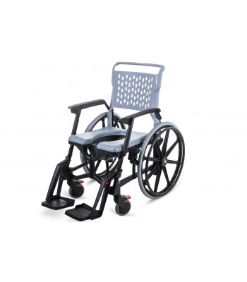 Bath Mobile Commode Travel Wheelchair