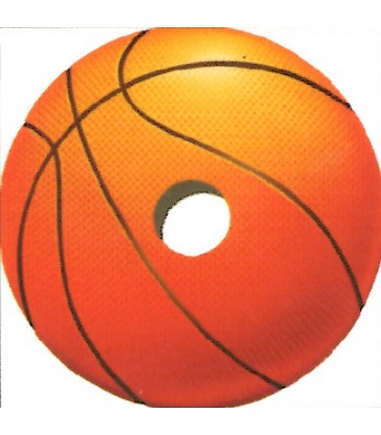 24 Inch Basketball Design Spoke Guard