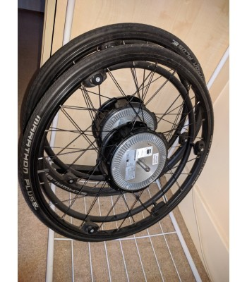 Second Hand Alber Twion Powered Wheelchair Wheels