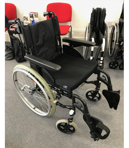 Second Hand Invacare Action 2NG Wheelchair With Roma Medical Powerpack