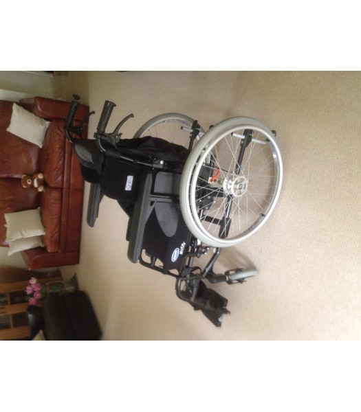 Second Hand Invacare Action3NG with Wheelchair Powerpack - May Sell Seperately