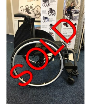 Ex Demonstration Kuschall Champion Ti Folding Lightweight Everyday Wheelchair
