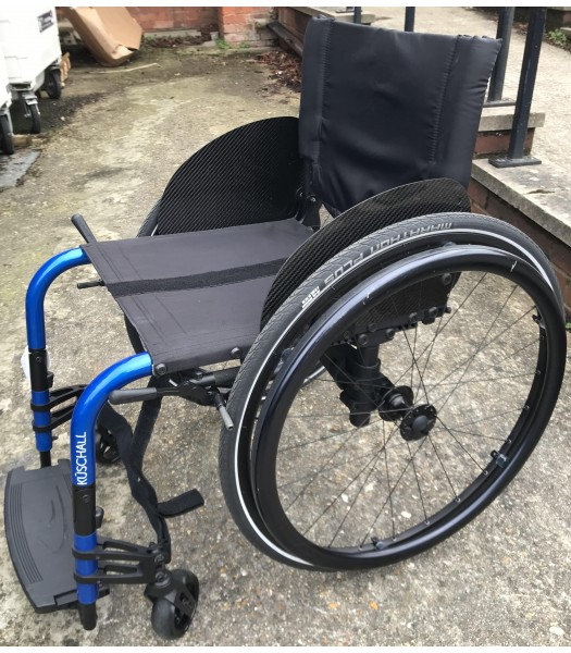 Ex - Demonstration Kuschall Champion SK Manual Folding Wheelchair