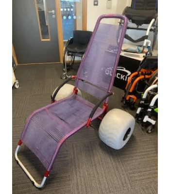Second hand Progeo Beach Wheelchair