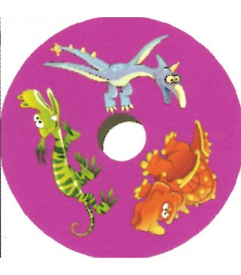 24 Inch Dinosaur Design Spoke Guard