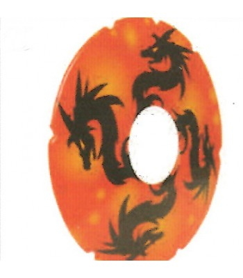 24 Inch Dragon Design Spoke Guard