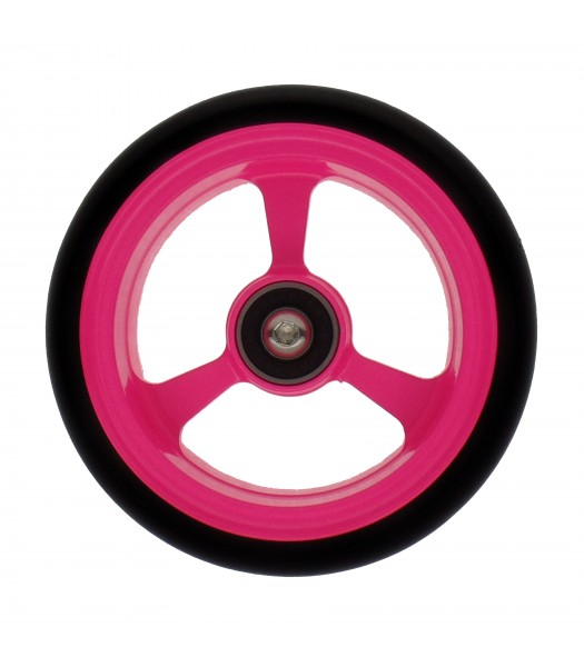 4 Inch Frogs Legs Powder Coated Wheelchair Caster -  Pink