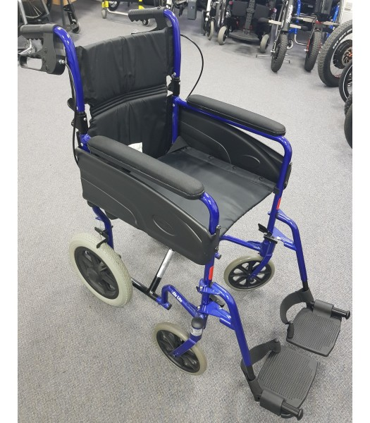 Second Hand Invacare Alulite Transit Wheelchair