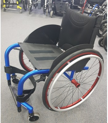 Second Hand Progeo Joker Energy Rigid Self Propelling Lightweight Wheelchair