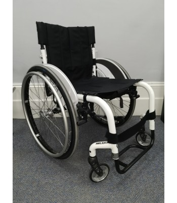 Second Hand Quickie Helium Rigid Self Propelling Everyday Wheelchair