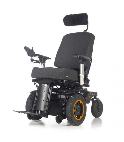 Quickie Q500 F Front-Wheel Drive Powered Wheelchair