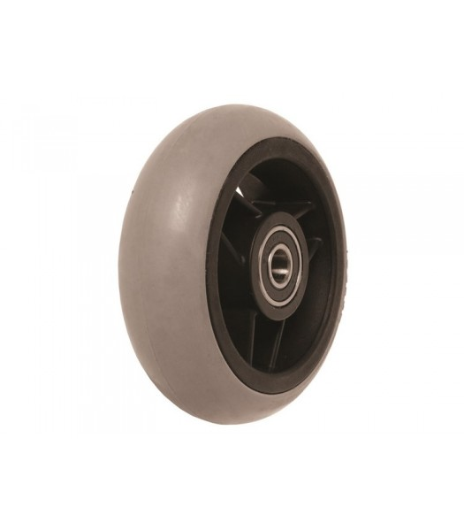 4 x 1 1/2 Inch Soft Roll Caster With Bearings