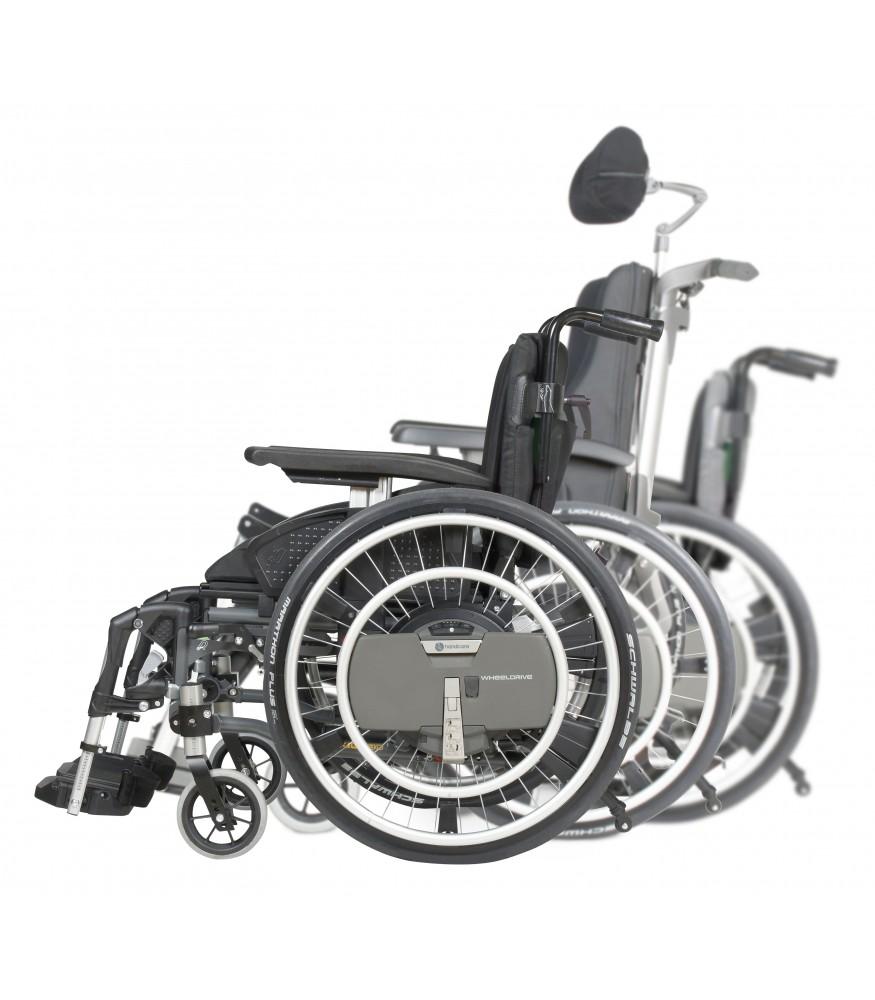 power assist wheels manual wheelchair