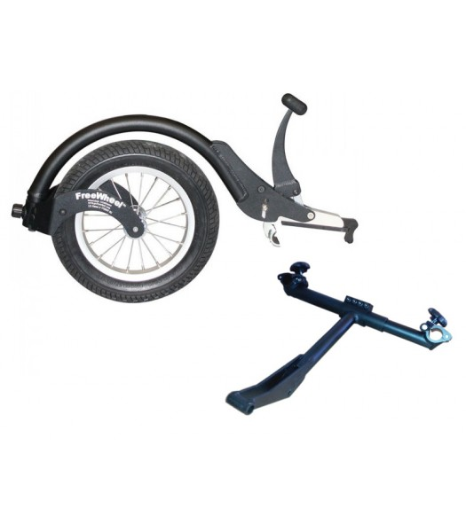 FreeWheel and Folding wheelchair adaptor