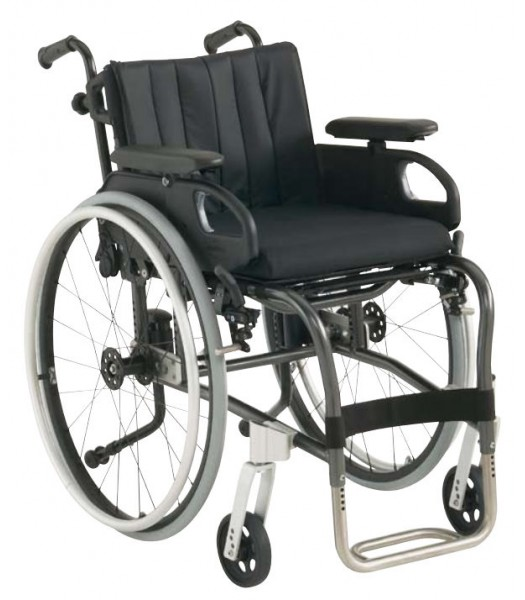 Invacare XLT Fixed  Titanium Wheelchair