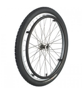 Quickie 24 Inch Wheelchair Mountain Bike Wheels