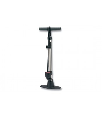 Raleigh Steel Floor Pump with Gauge