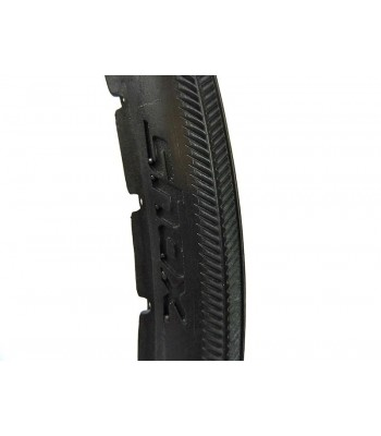 Shox 24 x 1 Inch Black Solid Tyres