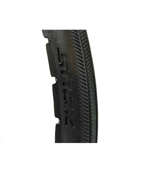 Shox 25 x 1 Inch Black Solid Tyres